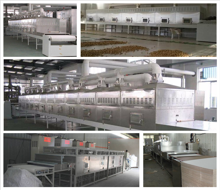leaf dryer machine/tunnle type microwave stevia dryer sterilizing machine