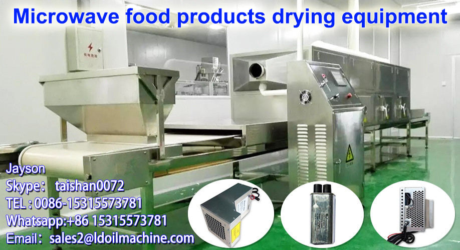Tunnel Dryer Type/Microwave Cardamom Drying Machine/Drying Equipment