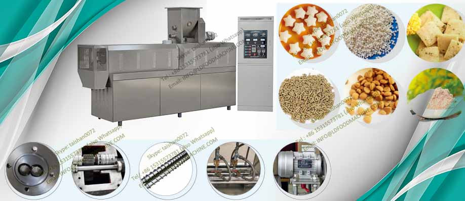 puffing corn chip snack extrusion machinery