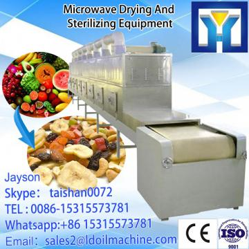 Tea Microwave Dryer/Mesh Belt Microwave Green Tea Dryer/Conveyor tunnel type herbs dryer