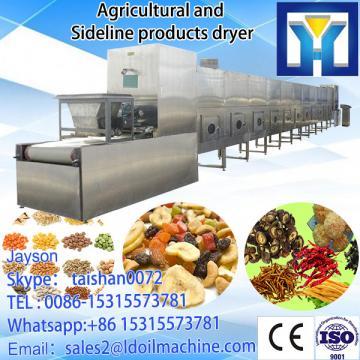 tea Microwave leave drying machine