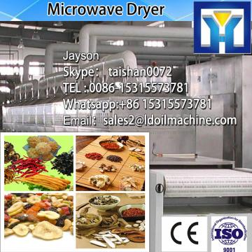 green Microwave tea leaf remove water machine -- tunnel microwave dryer