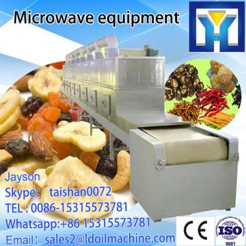 equipment /dewatering processing / drying  leaf  tea  microwave  continuous Microwave Microwave Tunnel thawing