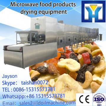 animal/human hairs industrial microwave dryer