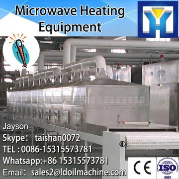 High Microwave capacity stainless steel continuous microwave electric olive leaf dryer for sale