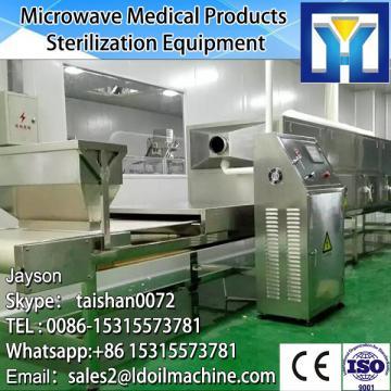 Gas microwave drying machine line