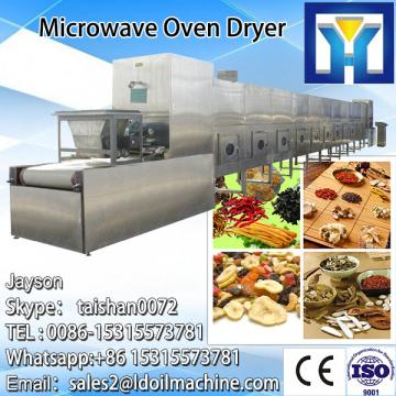 2017 China hot sale new condition CE standard wood fruit flower tea microwave drying equipment