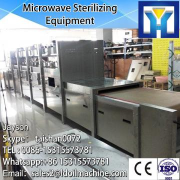 Big Microwave capacity industrial tunnel type microwave oven with TEFL conveyor belt
