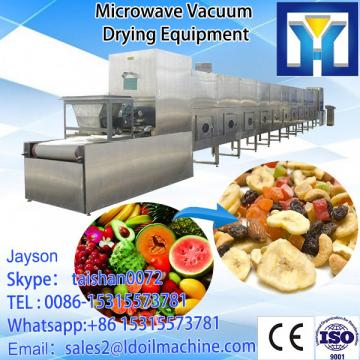 700kg/h microwave vacuum dryer for vegetable in France