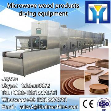 Small dried fish processing oven process