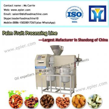 Sunflower seed screw press mini crude oil refinery