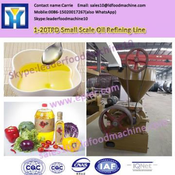 small sunflower oil refining machine