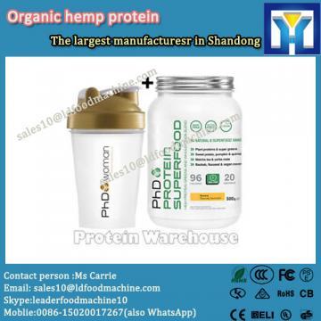 Good quality organic hemp protein 60%