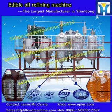 3-10T/D small size edible cooking oil refining machine with professional installation and training