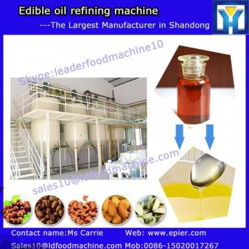 Automatic continuous soybean oil solvent extraction machine for processing soybean to refined oil