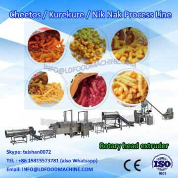best price fried corn snacks food kurkure make machinery/plant/extruder