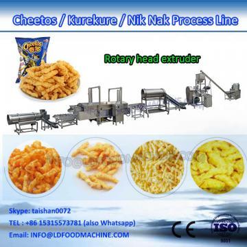 China Jinan high-caLDer full automatic corn curls make machinery