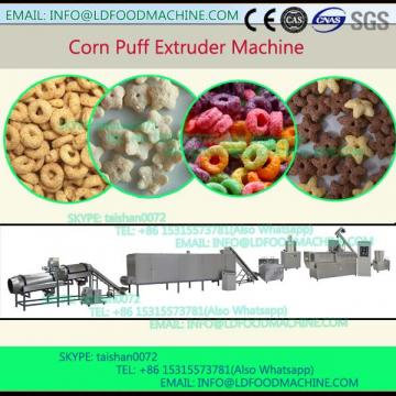 puffed corn extrusion snack machinery