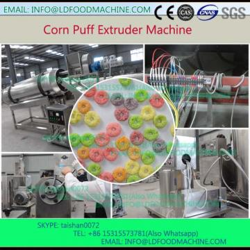 small crisp oval corn snacks food make machinery