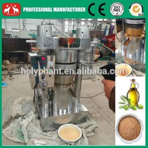 Sesame,Olive Oil Small Hydraulic Press Machine #4 image