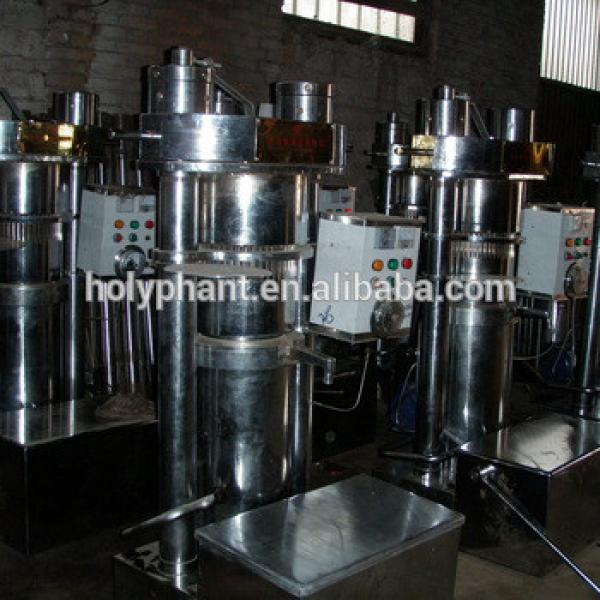 Automatic factory price pumpkin seeds hydraulic oil press machine #4 image