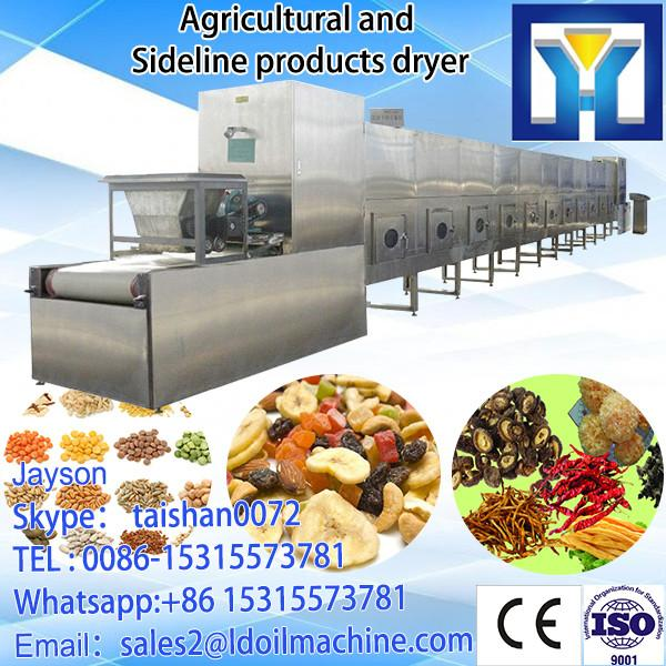Fast continuous microwave drying and sterilization machine for ginger #1 image