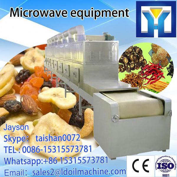 machine sterilizing /  drying  powder  milk  LD Microwave Microwave Jinan thawing #1 image