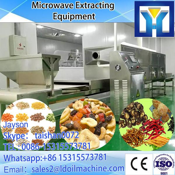 Green Microwave tea, mulberry tea leaf dryer/sterilizer fast drying big output #3 image