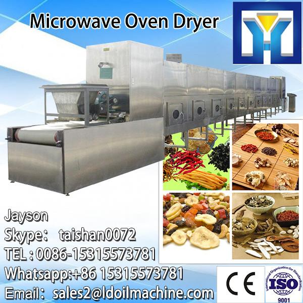 Microwave drying sterilizing machine device for dried fruit #1 image