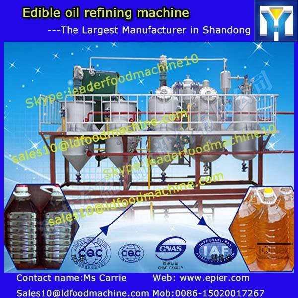 Newest design small palm oil press machine in China with CE/palm oil refining machine #1 image