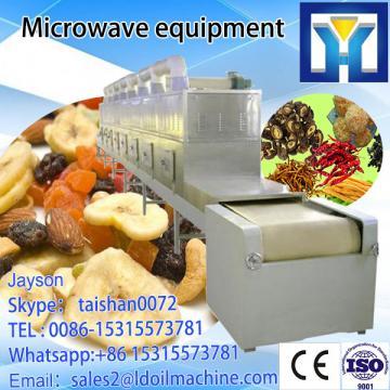certificate CE with machine  roasting  pecan  type  belt Microwave Microwave Conveyor thawing