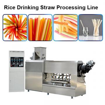 Full Automatic single screw extruder pasta straw making machine