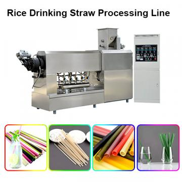 2020 Rice Pasta Wheat Disposable Drinking Straw Making Machine