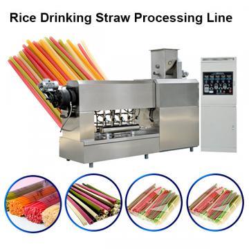 High efficiency Environmental protection straw production line macaroni machine macaroni pasta making machines
