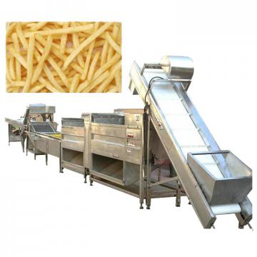Fresh frozen potato chips factory peeling and cutting machine