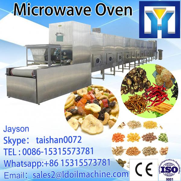 Continuous Microwave working microwave eucommiae tea dryer and sterilization processing equipment #1 image