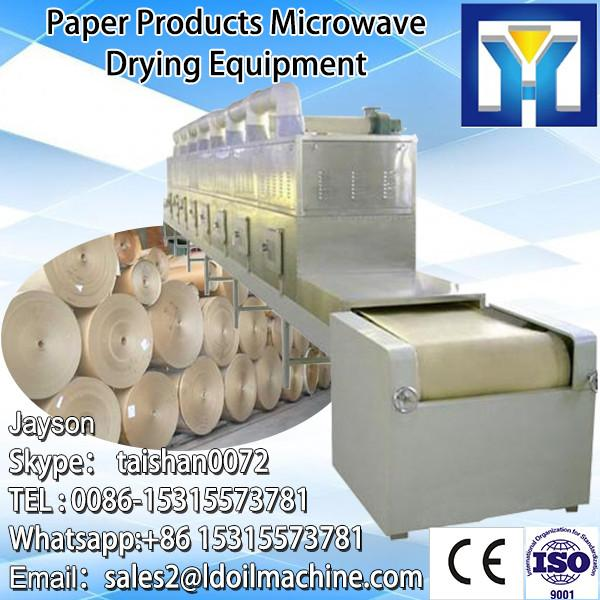 egg Microwave tray industrial tunnel belt type microwave drying machine #1 image