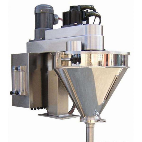Semi Automatic Plain Flour Corn Starch Powder Bottle Auger Weigh Filling Packing Machine #1 image