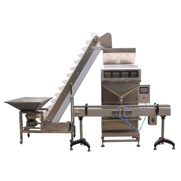 Semi Automatic Weighing Liquid Filling Capping Machine #1 image
