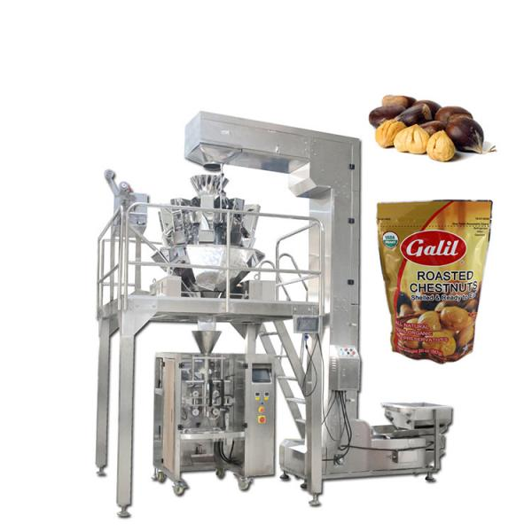 Automatic Preformed Dry Fruit Bag Packaging Complete Packing Production Line Bag Given Weighing Filling Sealing Machine #1 image