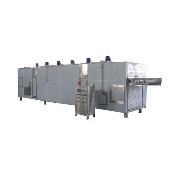 Industrial Belt Conveyor Continuous Microwave Shrimp Dryer Drying Machine #3 image