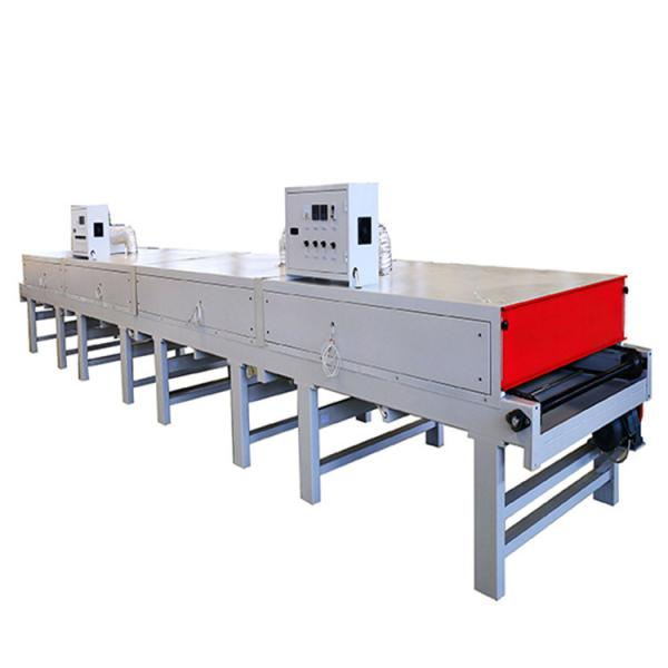 Long Tunnel IR Drying Oven IR Screen Printing Dryer Infrared Ray Heating Tunnel Machine #1 image