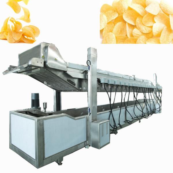full automatic semi-automatic potato pringles chips machine production line #2 image