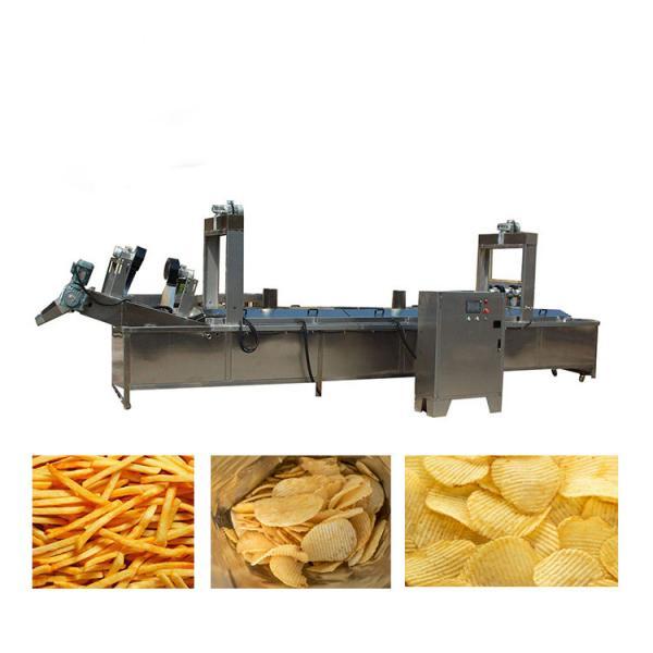 full automatic semi-automatic potato pringles chips machine production line #1 image