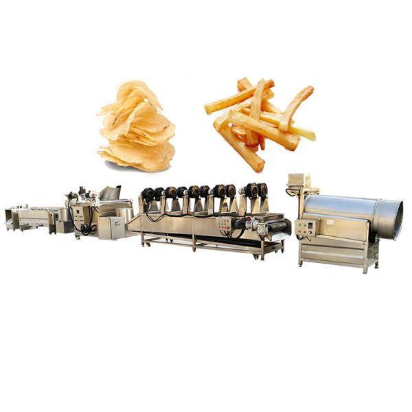 Fully Automatic Industrial Frozen French Fries Production Line Cassava Fresh Finger Potato Chips Making Machine Price #2 image