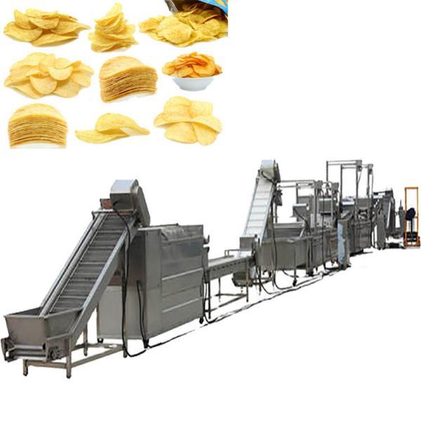 full automatic semi-automatic potato pringles chips machine production line #3 image