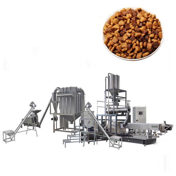 dry animal pet dog food pellet making processing extruder machine pet food production line price #2 image