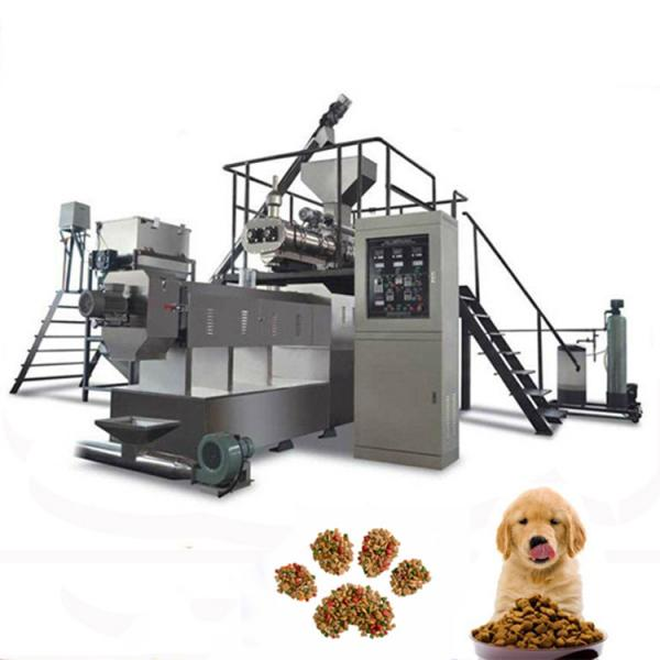 New products multi-functional dry dog food processing line / dog cat pet food machine #3 image
