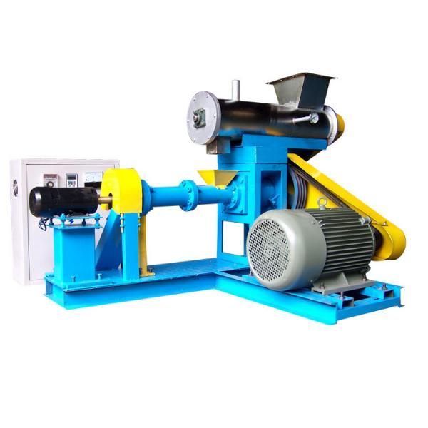 dry animal pet dog food pellet making processing extruder machine pet food production line price #1 image