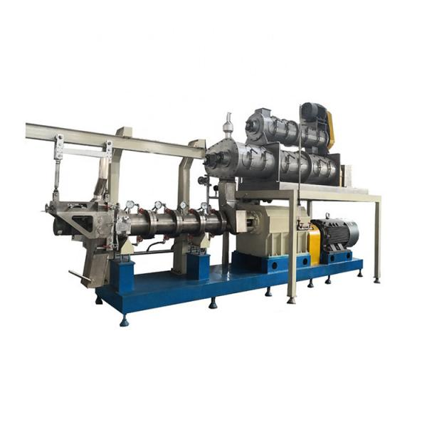 Industrial floating puffing fish feed food pellet machine dryer #3 image